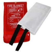 1M X 1M WALL MOUNTABLE FIRE BLANKET HOME KITCHEN SAFETY EMERGENCY PROTECTION NEW